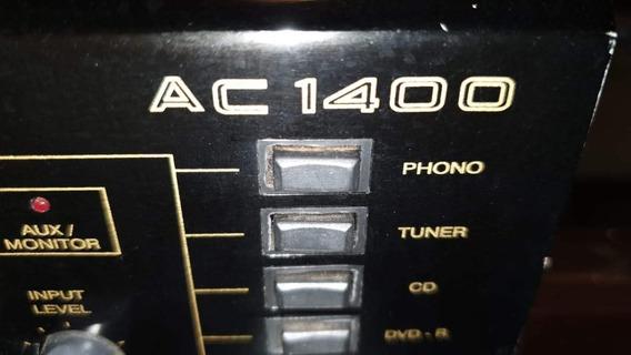 Mixer E Amplificador Unic Ac-1400 Pouco Uso
