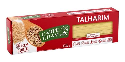 Talharim Zero Glúten Quinoa/arroz Integral 400g Carpe Etiam