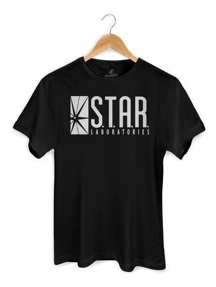 Camiseta Dc Comics The Flash Star Laboratories - Bandup!