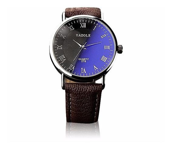 Reloj Para Hombre Casual De Acero Y Vidrio Envió Gratis