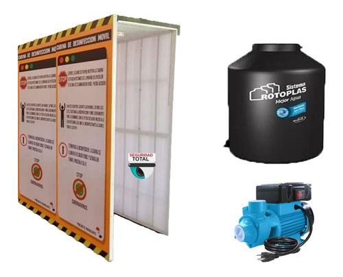 Túnel Móvil Sanitizador V2 Cabina Desinfectante