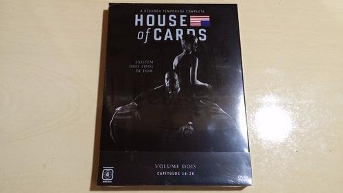Box Dvd House Of Cards 2ª Temporada. Frete Grátis.