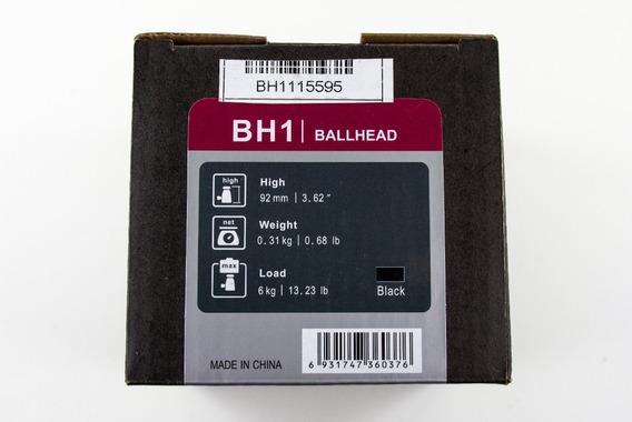 Cabeça Ball Head Benro P/ Tripé/monopé Modelo Bh1 Carga 6kg