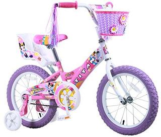 Chicas De Titanio Flor Princesa Bmx Bicicleta, Rosa, 16 Pulg