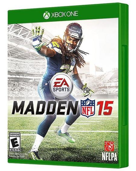 Madden Nfl 15 - Xbox One - Mídia Física, Original E Lacrada