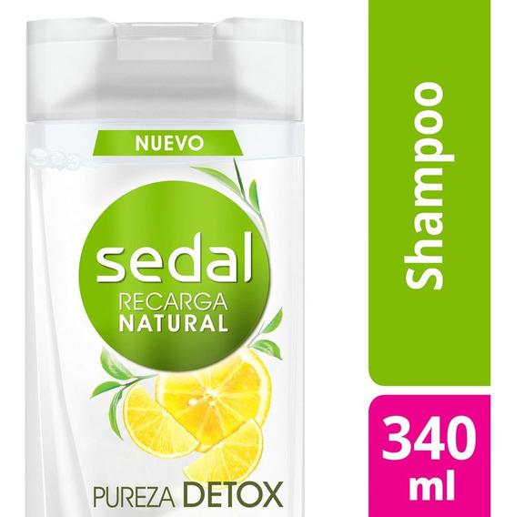 Sedal Bomba Detox Te Verde Citrico 340 Shampoo O Acondicinad