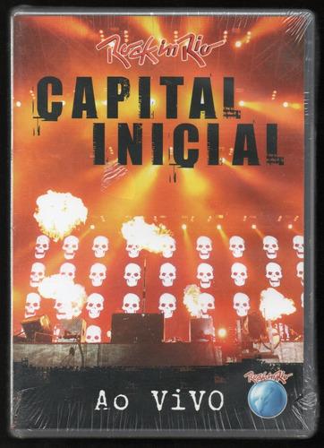Dvd Capital Inicial | Rock In Rio (lacrado)