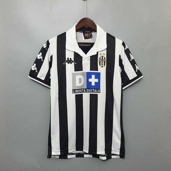 Camisa Juventus Retrô - Frete Grátis