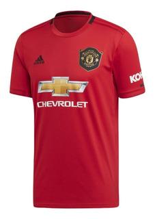 Camiseta Masculina adidas Manchester United Ed7386