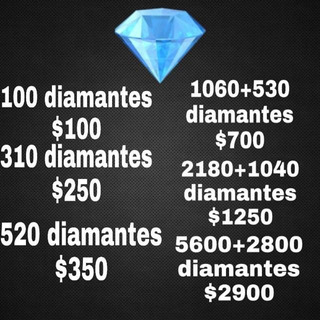 Diamantes De Free Fire