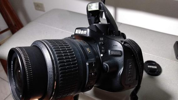 Câmera Nikon D5100 Com Lente 18-55mm