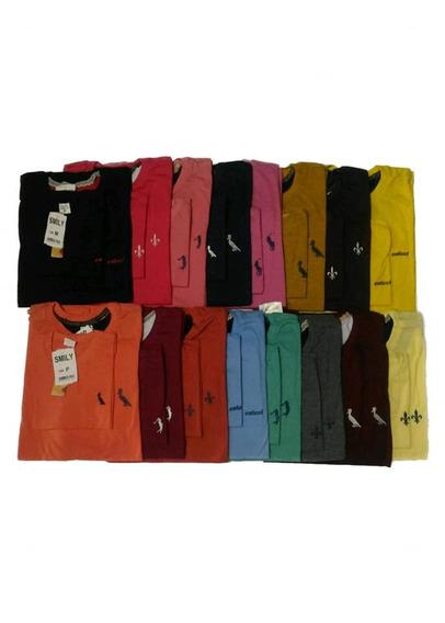 Kit Com 10 Camisa Pai E Filho