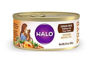 Punto De Halo Pate Alimentos Para Gatos