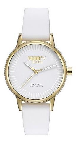 Puma Pu104252001 Reloj Para Mujer, Redondo, Análogo, Color