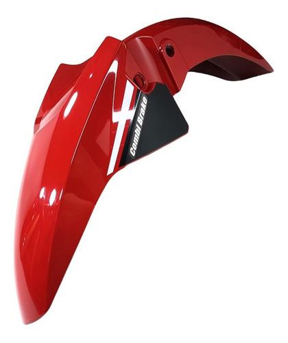 Paralama Dianteiro Fan 160 Vermelho Paralama Fan 160 25 Anos