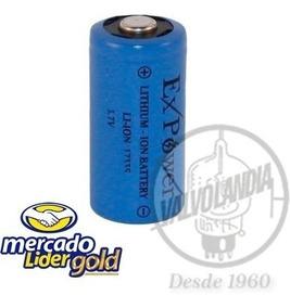 Bateria Cr123a/17335 3,7v Li-on Recarregavel 450mah