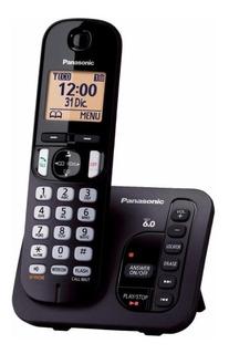 Teléfono inalámbrico Panasonic KX-TGC222 negro