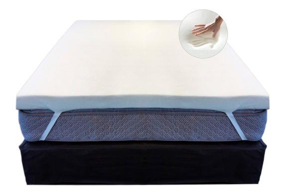 Pillow Top Desmontable 200x 160 X 5 Viscoelastica Memori