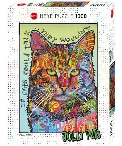 Rompecabezas 1000pzas Heye Jolly Pets: Si Los Gatos Hablaran