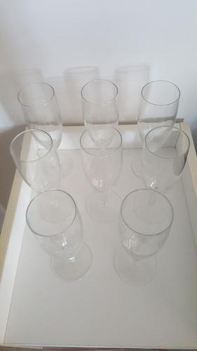 Juego De 8 Copas De Vidrio Para Champaña O Champagne