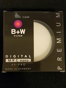 Filtro B+w 72mm Mrc Nano Clear 007m Xsp