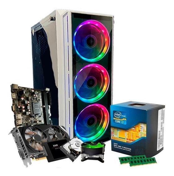 Pc Intel I7, 16gb, Ssd 240gb, 1tb, Geforce 6gb 1060 Gtx + Nf