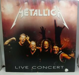 Vinilos Show En Vivo La Nacion Nº 04 Metallica