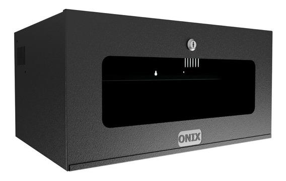 Mini Rack Organizador 5u Acrílica Onix Para Dvr Sem Bandeja