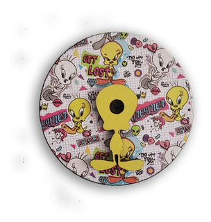 Perchero Individual Oficial Looney Tunes Tweety Infantil