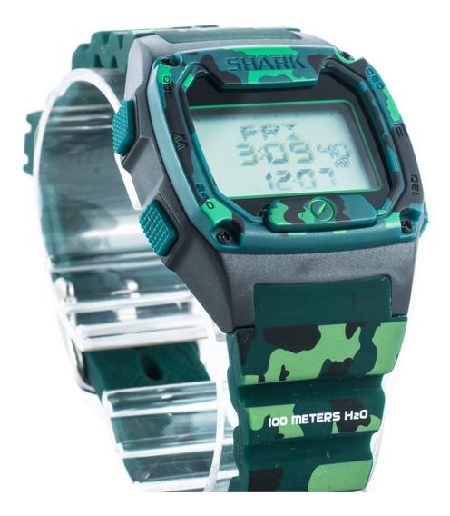 Relógio Freestyle Shark Skin Camuflado Bússola Novo Garantia