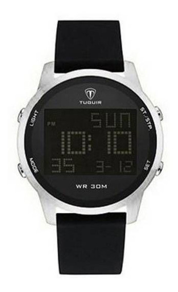 Relógio Masculino Digital Tuguir Tg7003 Prata Lançamento