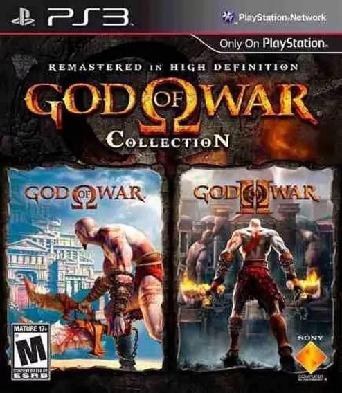 God Of War Collection 1 E 2 Hd Ps3 Receba Hoje