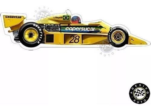 Adesivo Copersucar Fittipaldi F5 1977 F1 Formula 1 Carros