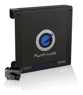 Amplificador Planet Audio 1500w Clase D Anarchy Audio Auto