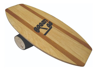 Balance Board Greengo Indoor Surf Y Rodillo De Madera Maciza