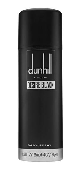 Desire Black Dunhill - Body Spray Masculino 215ml Blz