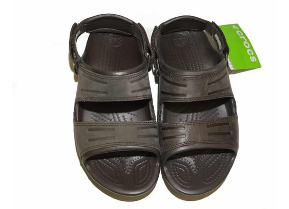 Sandalia Crocs Outlet Yukon Two Strap Mahogany T 26