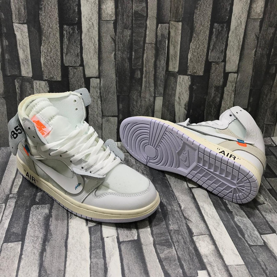 Sneakers Tenis Nike Jordan 1 X Off White Envío Gratis