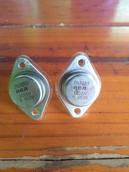 Par De Transistor 2n3055rca Original