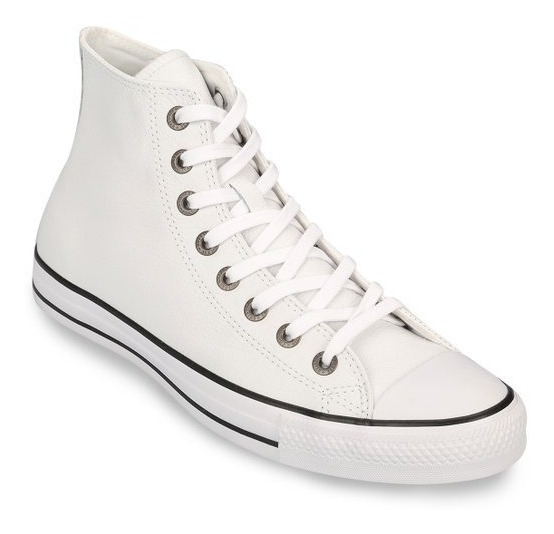 Zapatillas Converse All Star Leather Cuero Hi -envio Gratis!