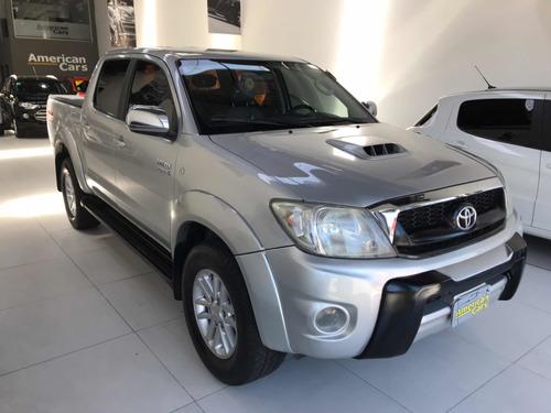 Toyota Hilux 3.0 I Srv Cab Doble 4x4 Cuero 2010