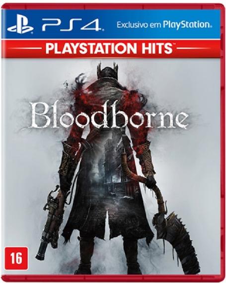 Bloodborne Ps4 Mídia Física Novo Lacrado Pronta Entrega