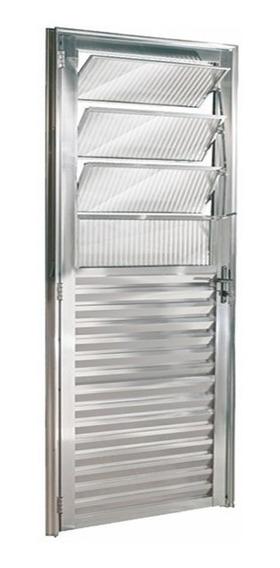 Porta Basculante De Alumínio Brilhante 2.10x0.80