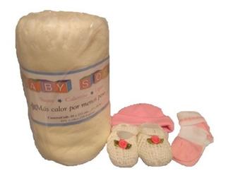 Set Bebé Recién Nacido 4 Pzas Te Lo Envolvemos Para Regalo!