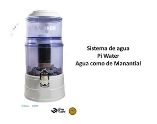 Filtro De Agua Pi Water De Nikken Agua Alkalina Al Instante
