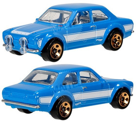 Hotwheels 70 Ford Escort Rs1600 (fast And Furious 6)
