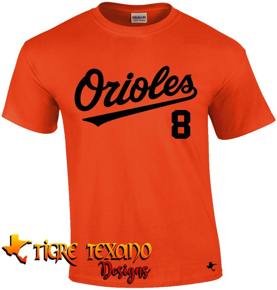 Playera Mlb Orioles Baltimore Mod. 1 By Tigre Texano Designs