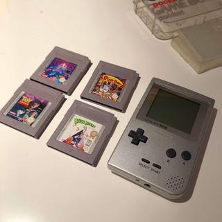 Game Boy Pocket + 4 Juegos. Todo Con Estuches. Excelente!!