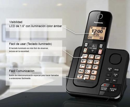 Telefono Inalambrico Panasonic Kx-tgc363 3 Auriculares. Dect | Mercado Libre