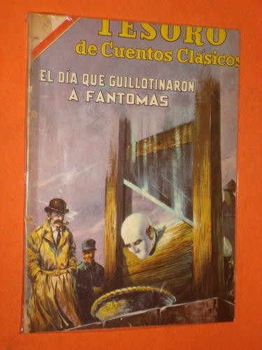 Fantomas * Tesoro De Cuentos Clasicos Nº 123 Novaro